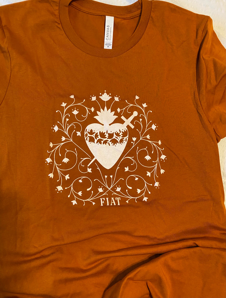 Immaculate Heart Tee (AUTUMN)