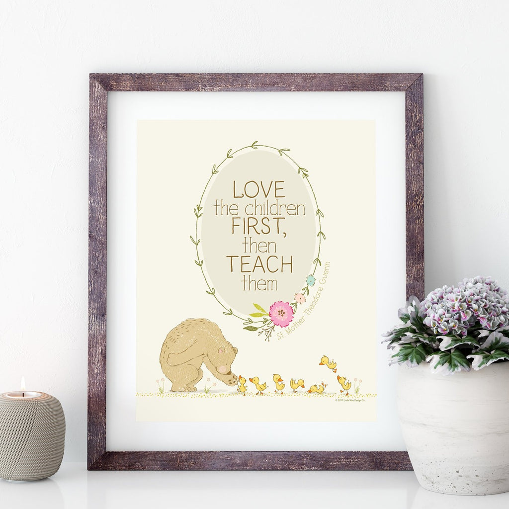 love the children printable