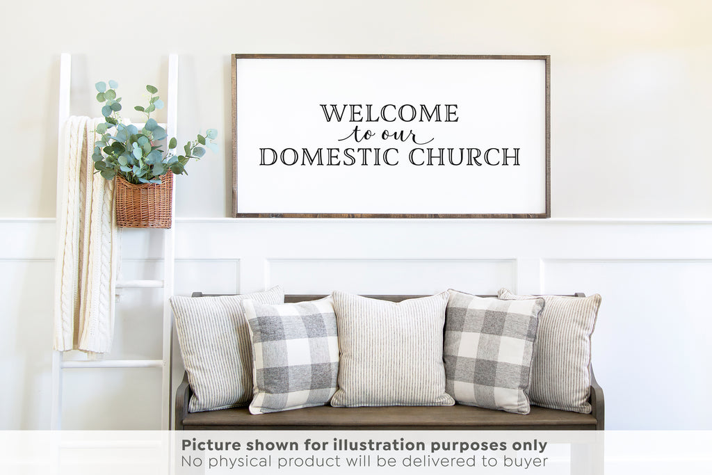 Welcome to our Domestic Church SVG