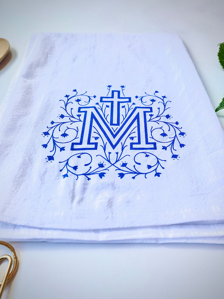 Marian Cross Tea Towel