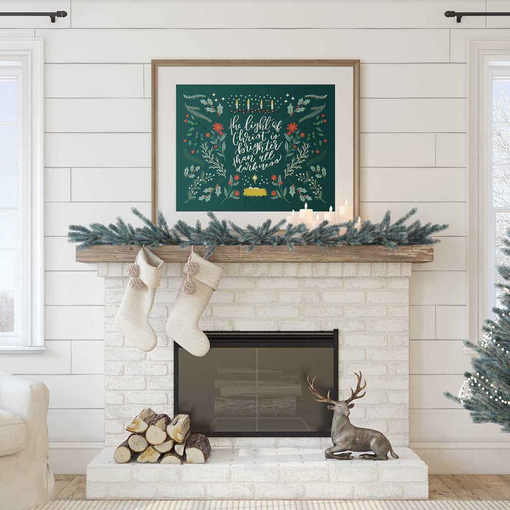 Light of Christmas Printable
