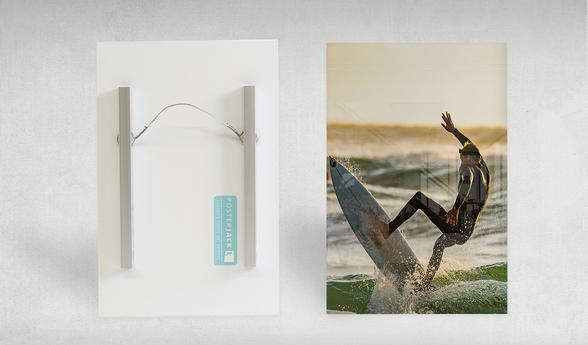 Acrylic Print Float Mount Hanging System
