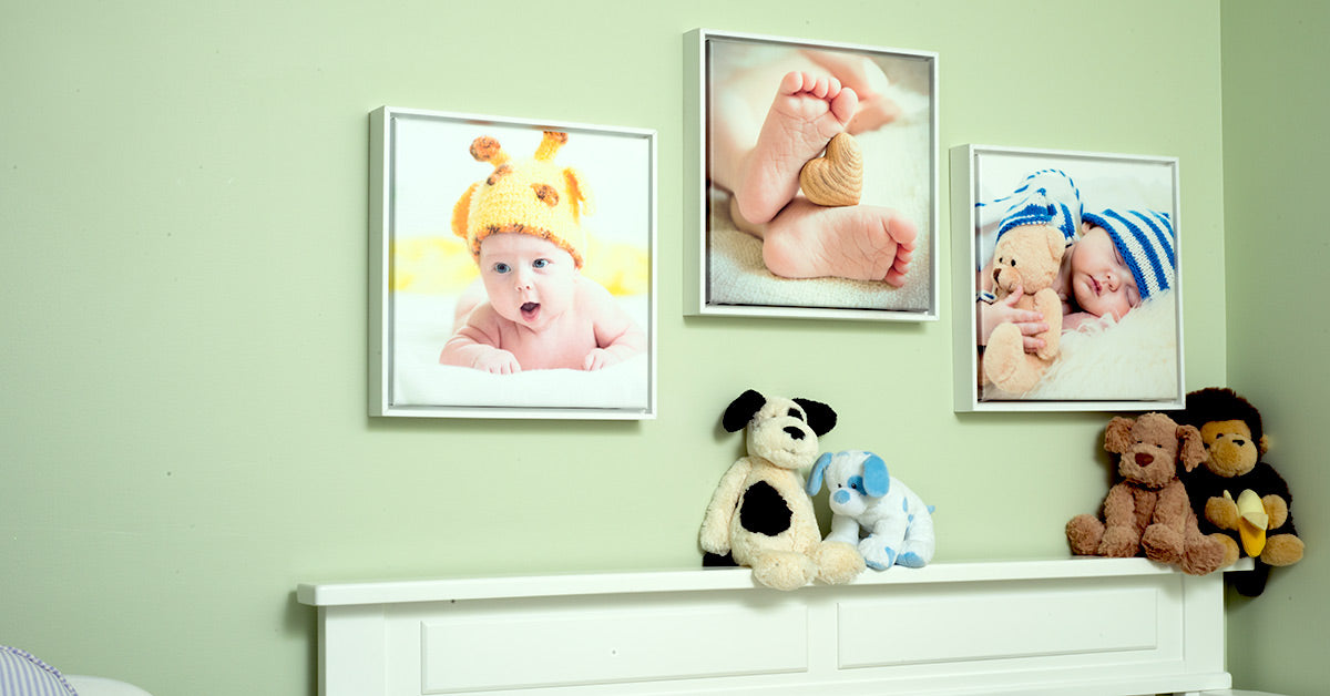 Framed Canvas Prints Baby Nursery Decor