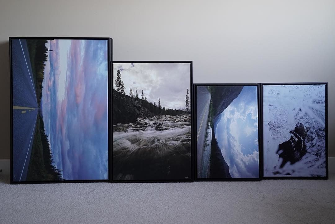 Posterjack Canada Customer Photo of Canvas Prints with Floater Frames