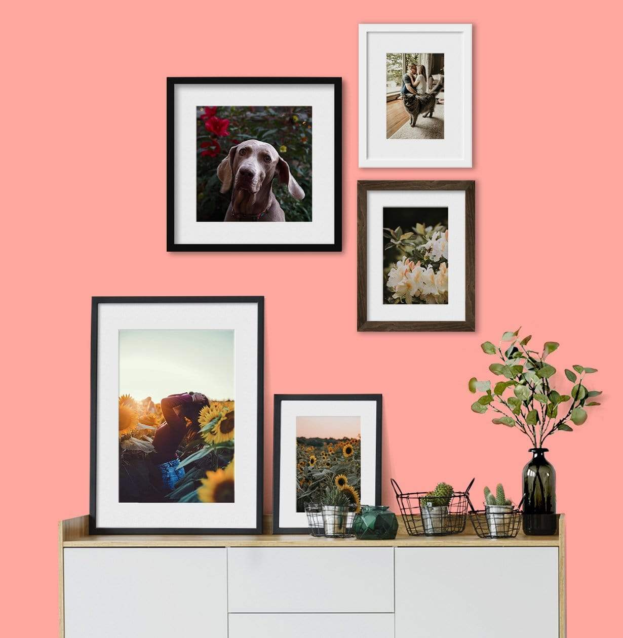 Collection of Custom Framed Photos Printed by Posterjack Canada