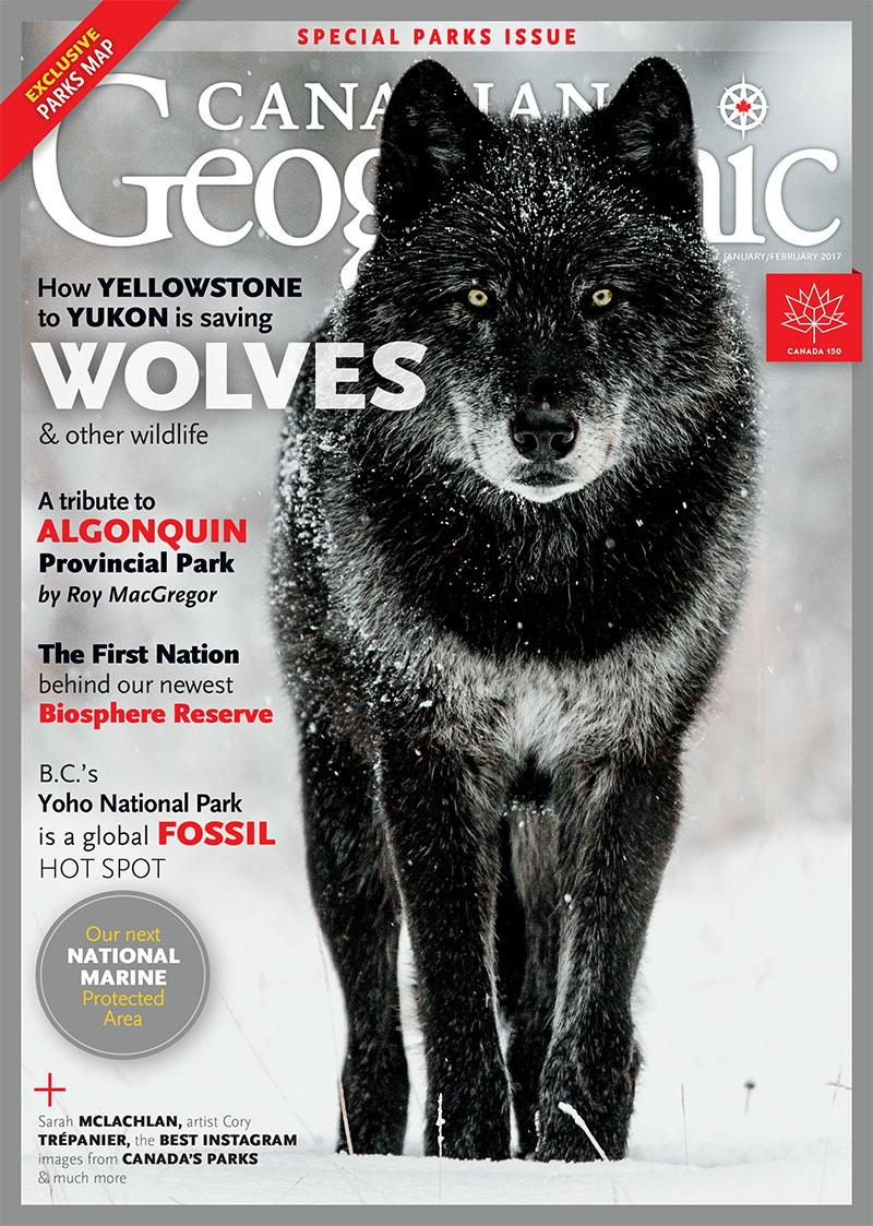 Cover of Canadian Geographic Magazine