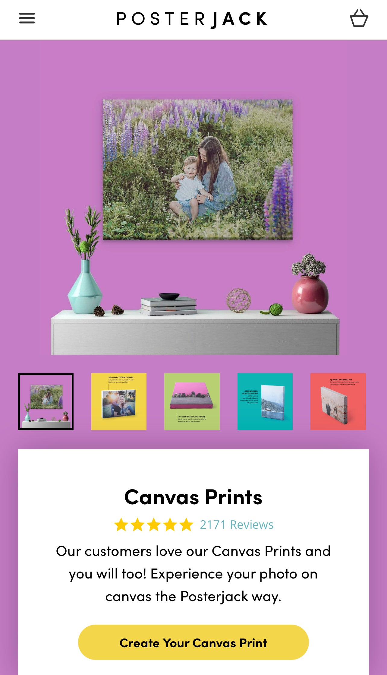 Guide to Printing a Phone Picture on Canvas - Step 1