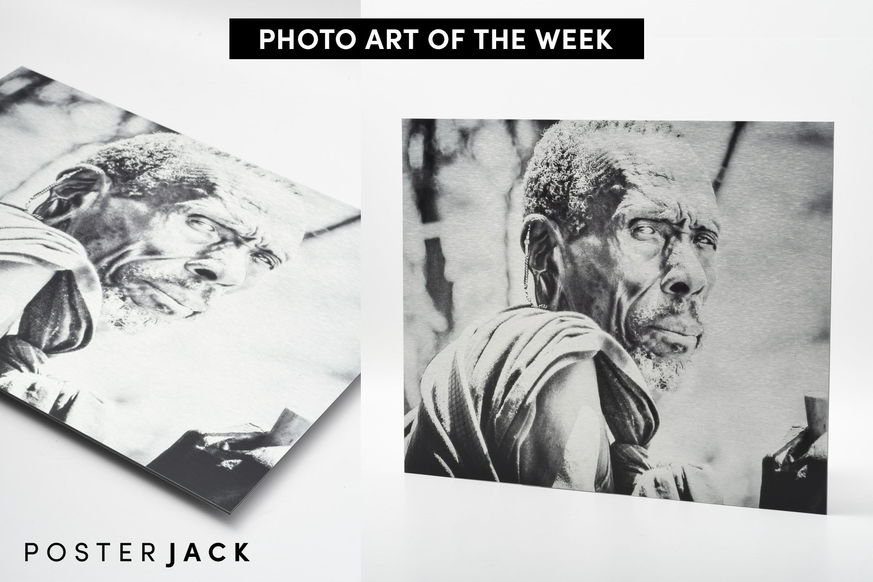 Photo Art of The Week Printed on Brushed Aluminum