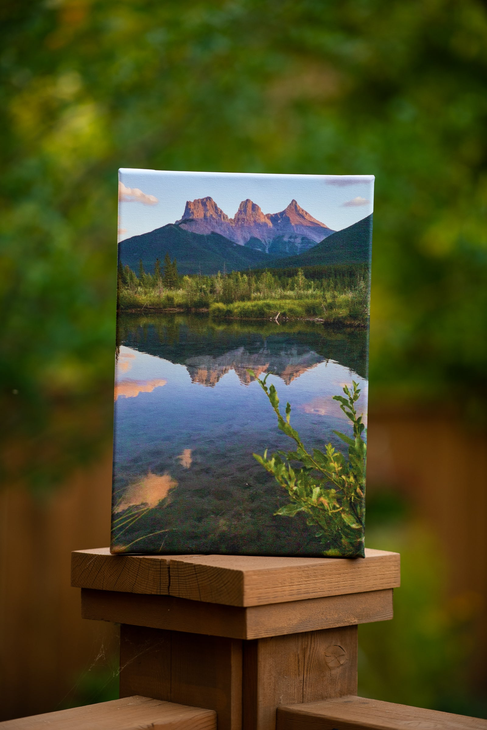 Canadian Landscape Photo by Erik McRitchie Printed on Canvas by Posterjack