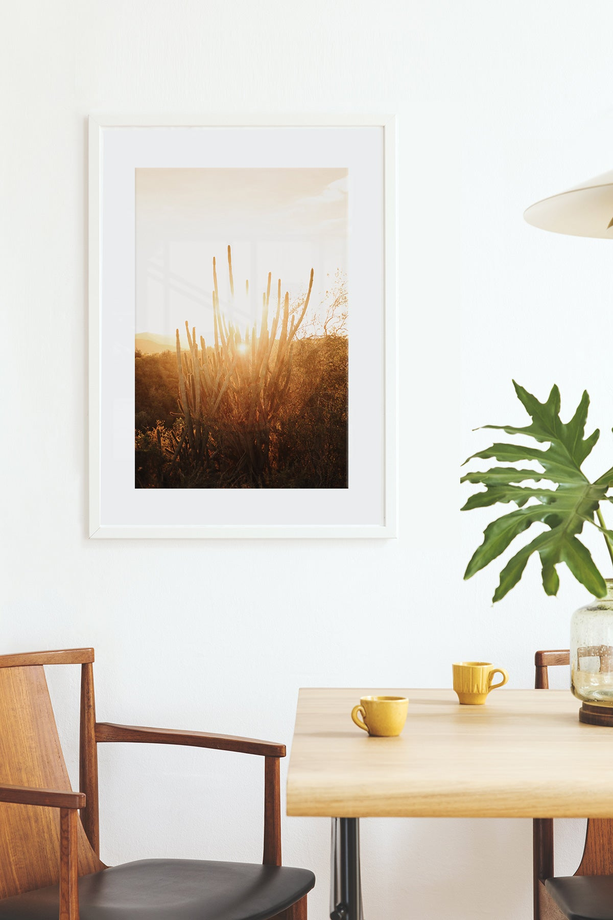 White Picture Frames - Essential Framed Print by Posterjack Canada