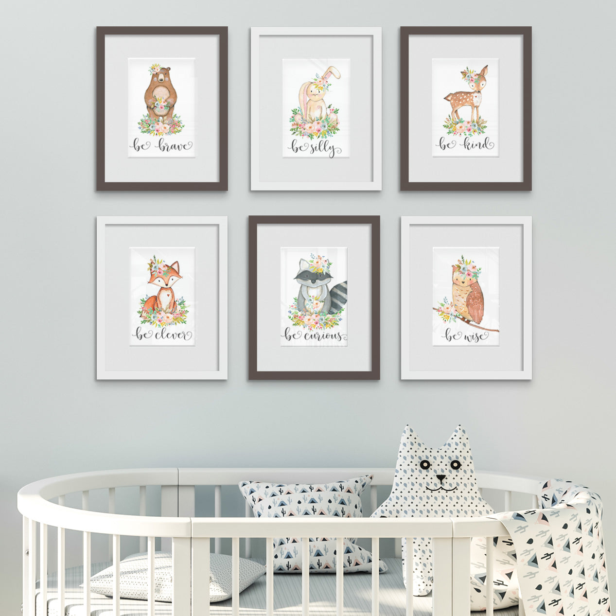 Woodland Animals Etsy Digital Downloads Printed and Framed by Posterjack