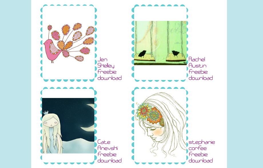 Feed Your Soul: Free Art Project - Website Screenshot