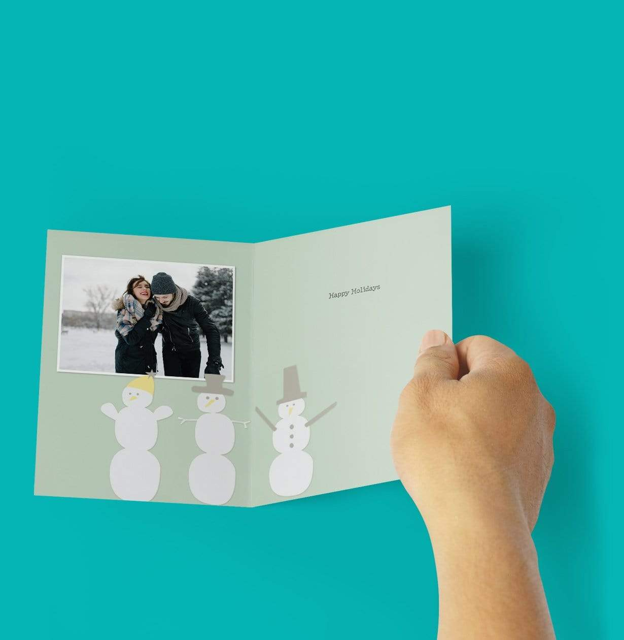 Folded Photo Card - Photo Gift Ideas Under $25