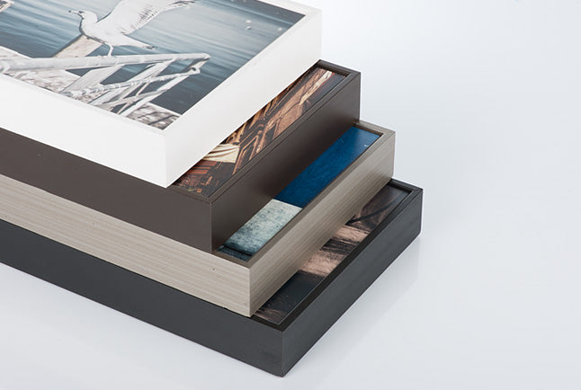 Floating Wood Frames - Posterjack Canada Gallery Boxes