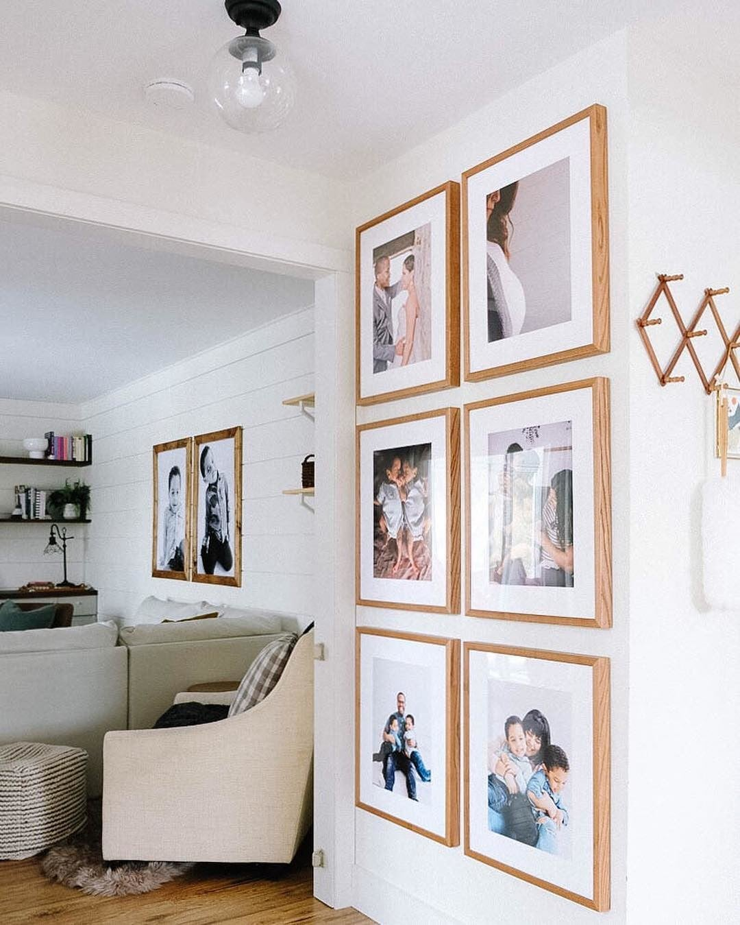 Gallery Wall of Posterjack Framed Prints - Customer Photo