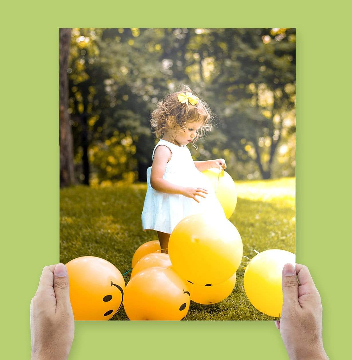 Glossy Photo Printed by Posterjack