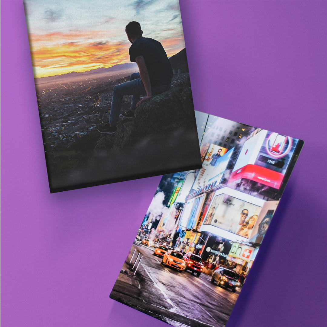 Comparing Metal Prints to Canvas Prints