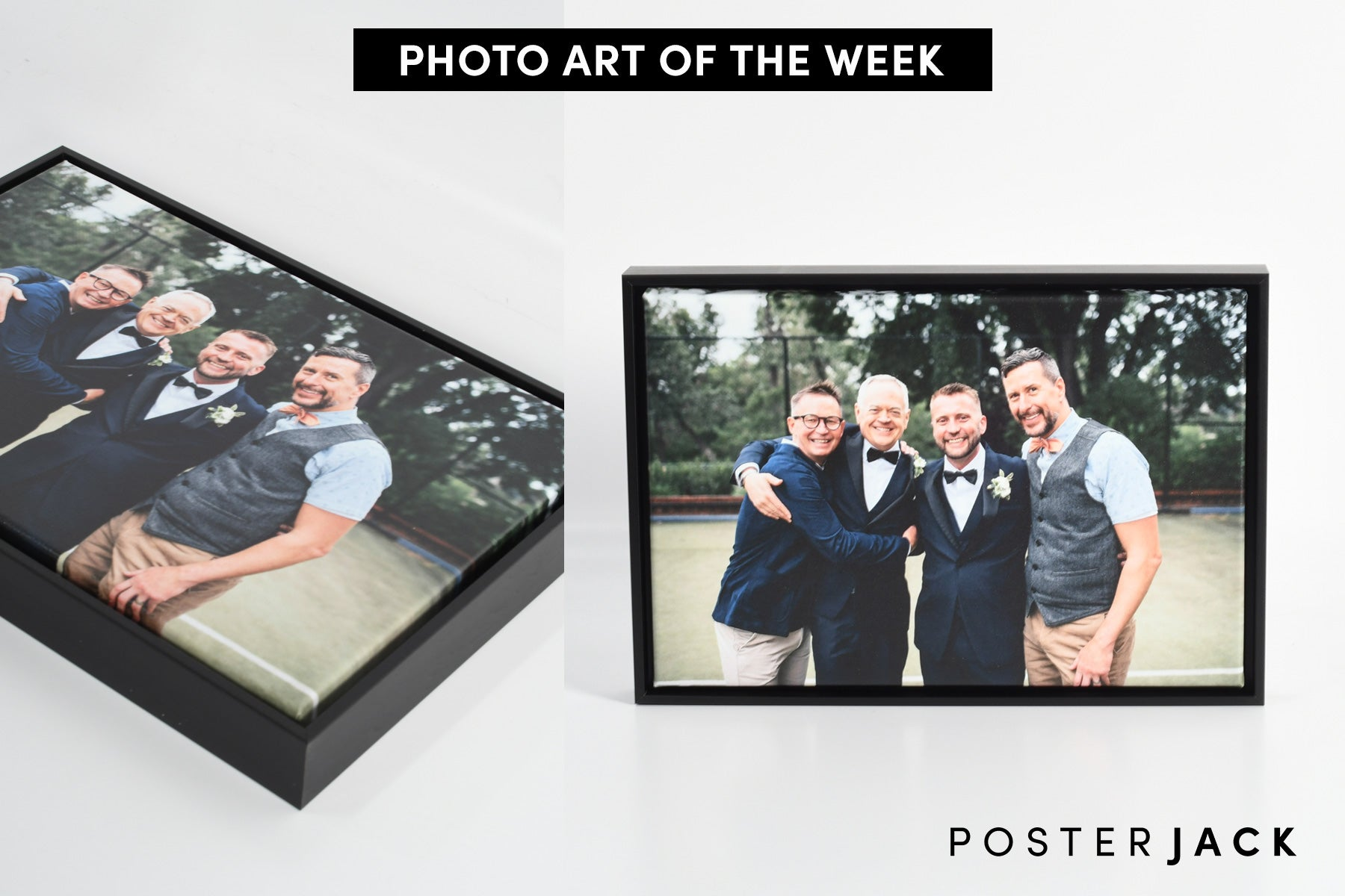 Wedding Photo - Framed Canvas Print - Posterjack Photo Art of The Week
