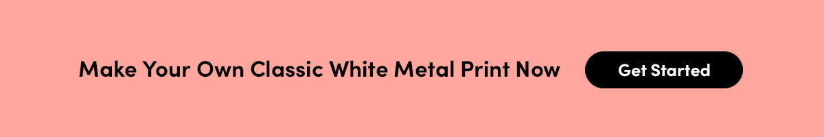 Make Your Own Posterjack Classic White Metal Print Now