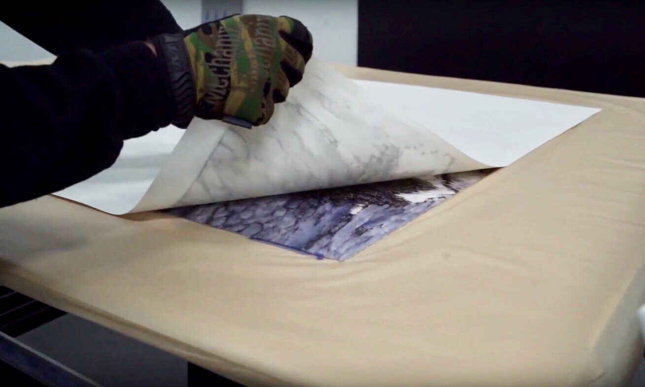 Posterjack Canada Making an HD Metal Print with Dye-Sublimation Process