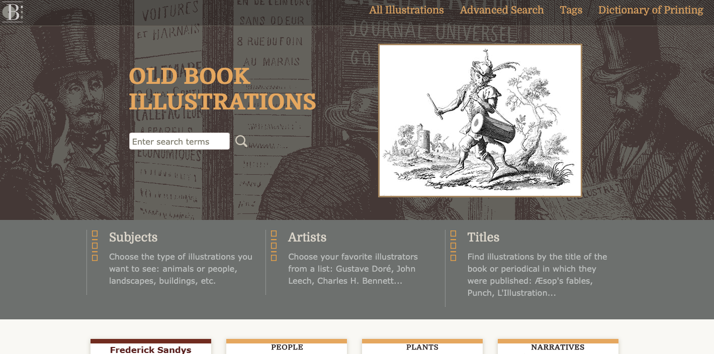 Old Book Illustrations - Free Printable Wall Art