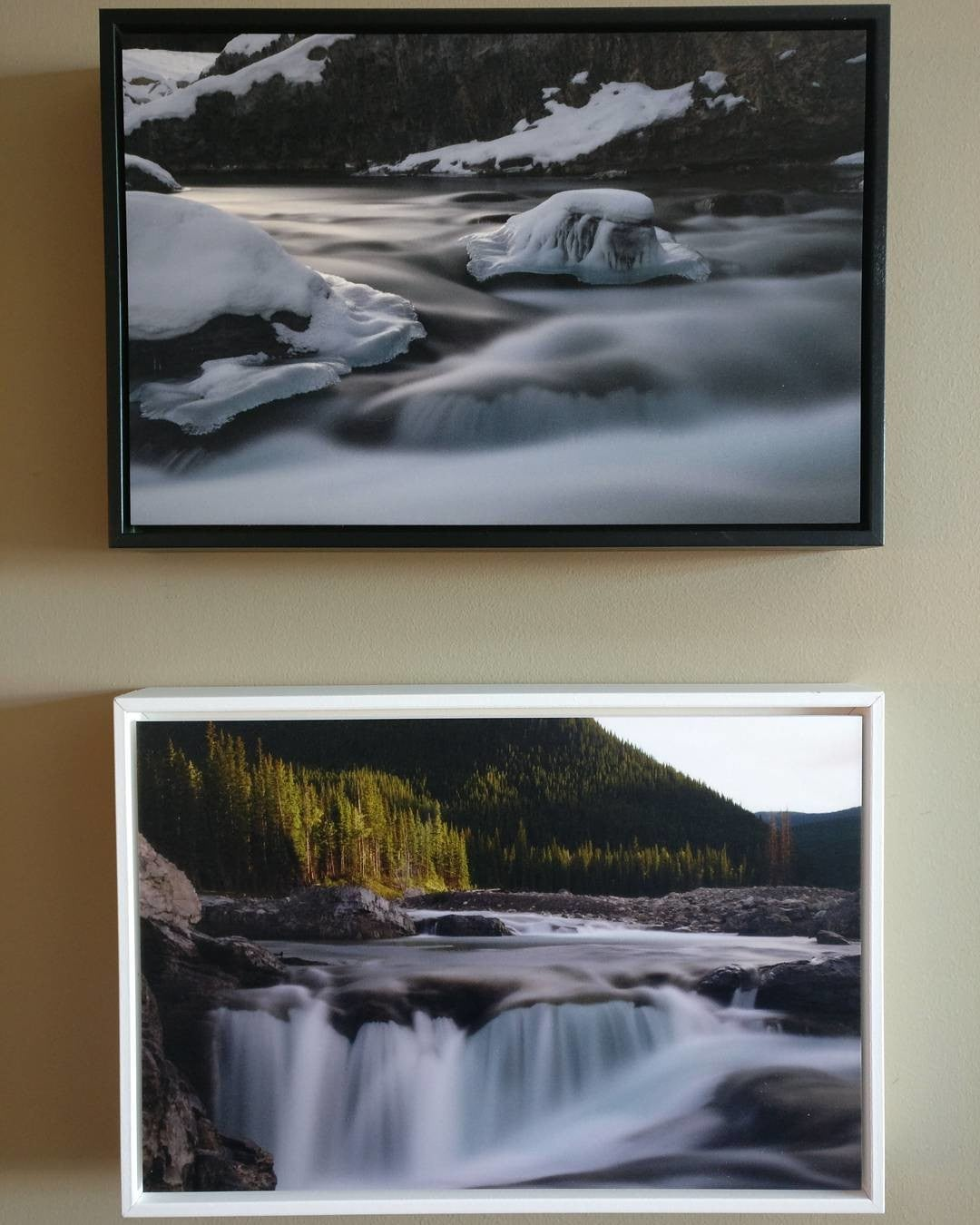Posterjack Canada Customer Photo Feature - Photoboards with Black and White Float Frames