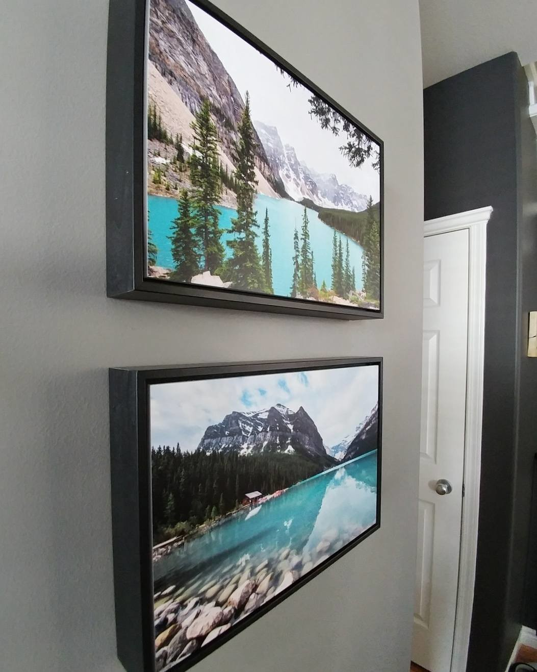 Photos of Banff, Alberta printed on Posterjack Gallery Boxes