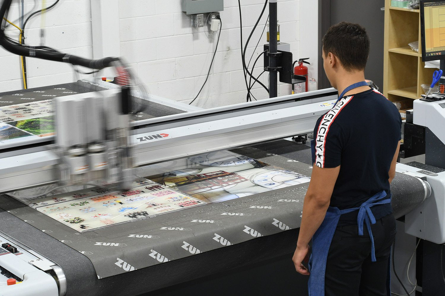 Behind the Scenes: Posterjack Canada Printing Pictures