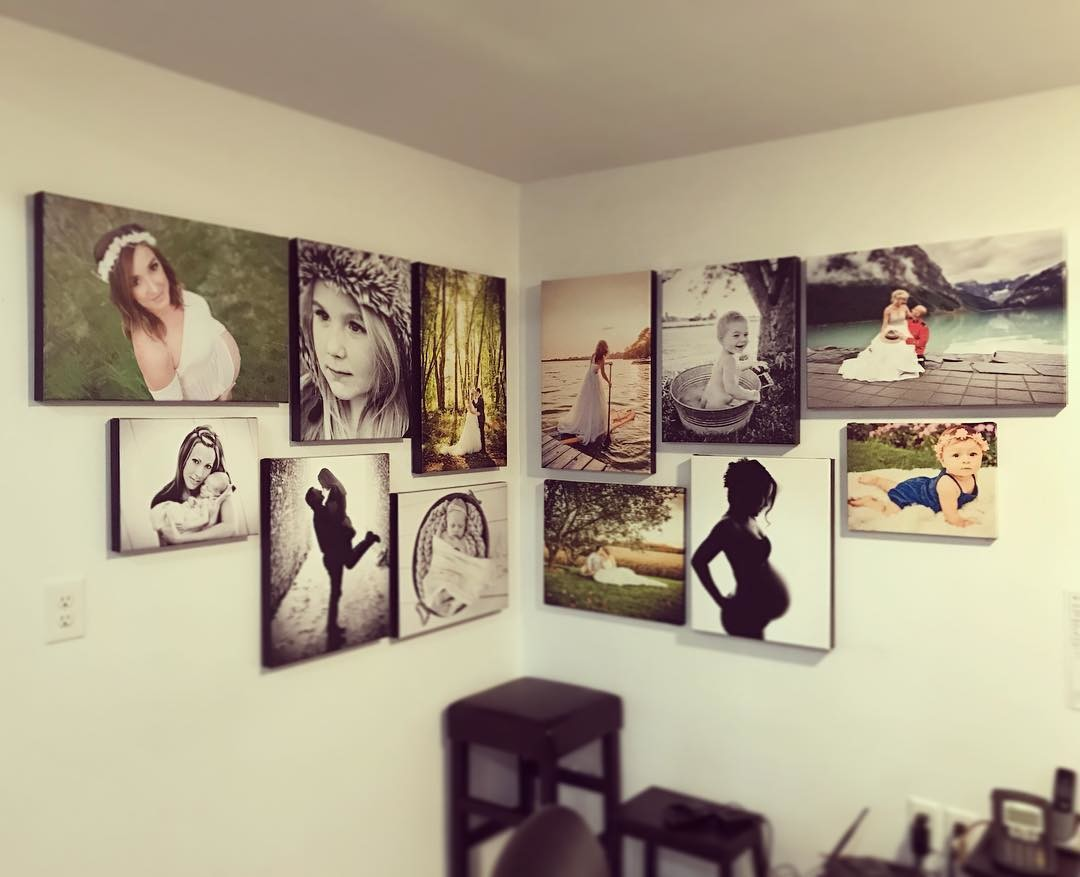 Gallery Wall of Photos Printed by Posterjack