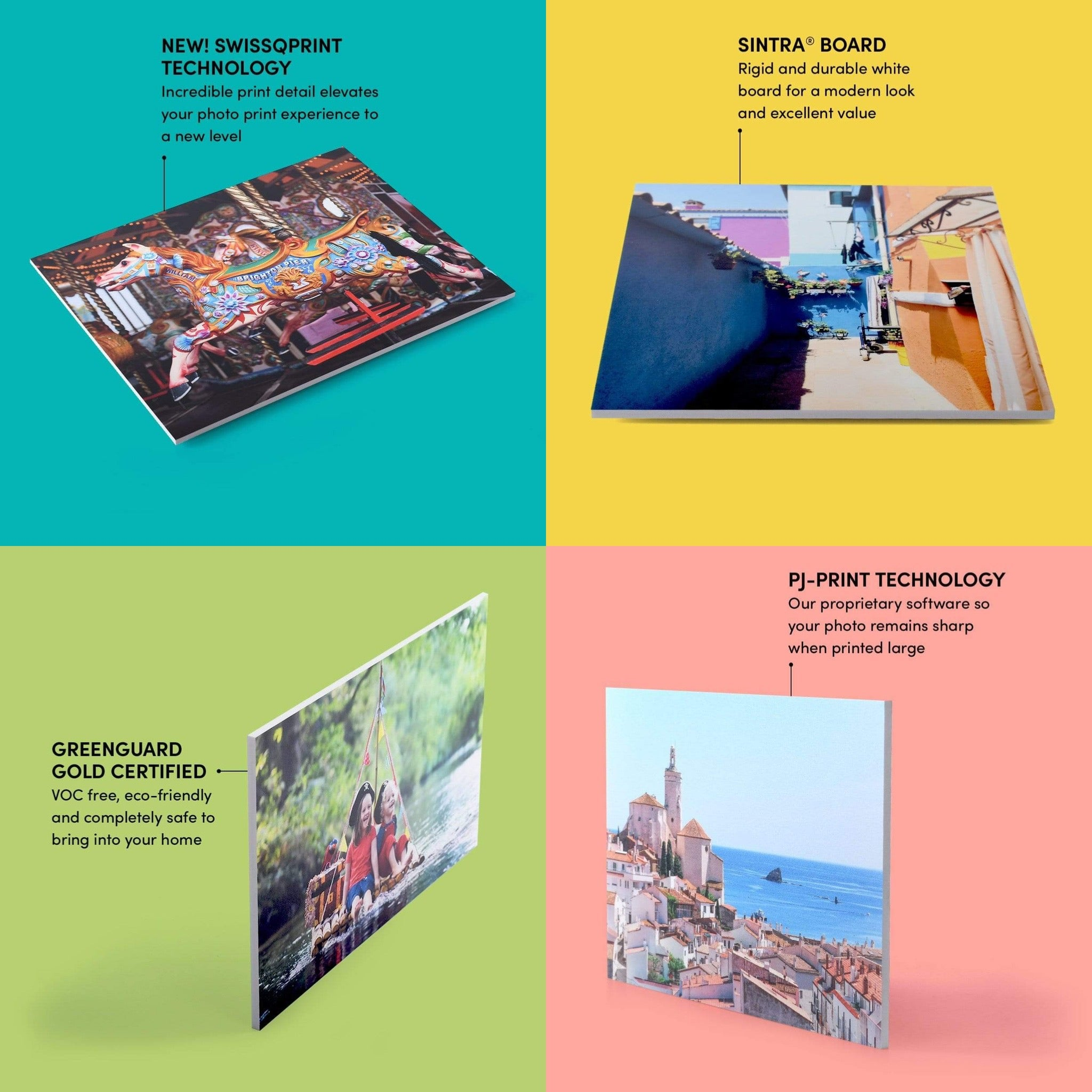 Features of a Posterjack Photoboard
