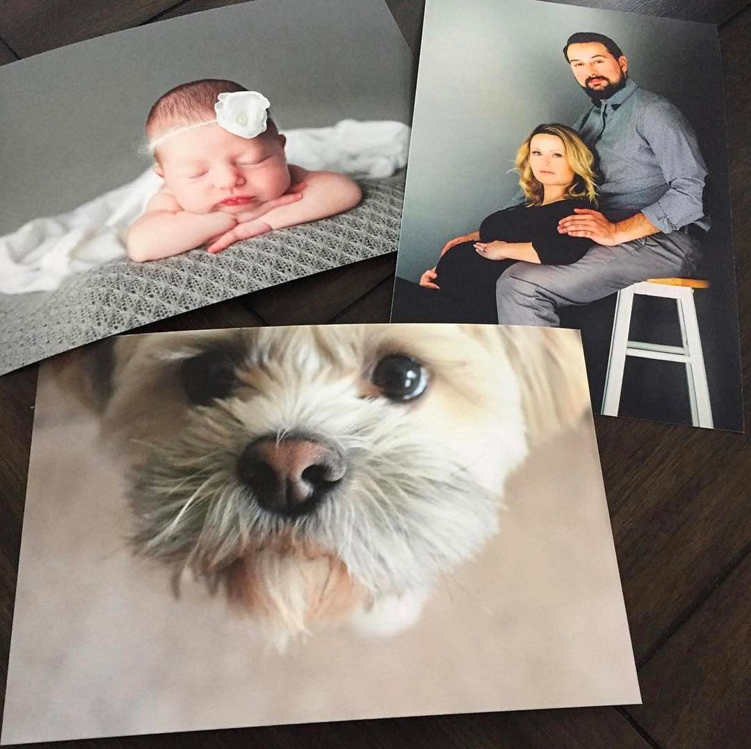 Posterjack Canada Photo Prints of Family and Dog