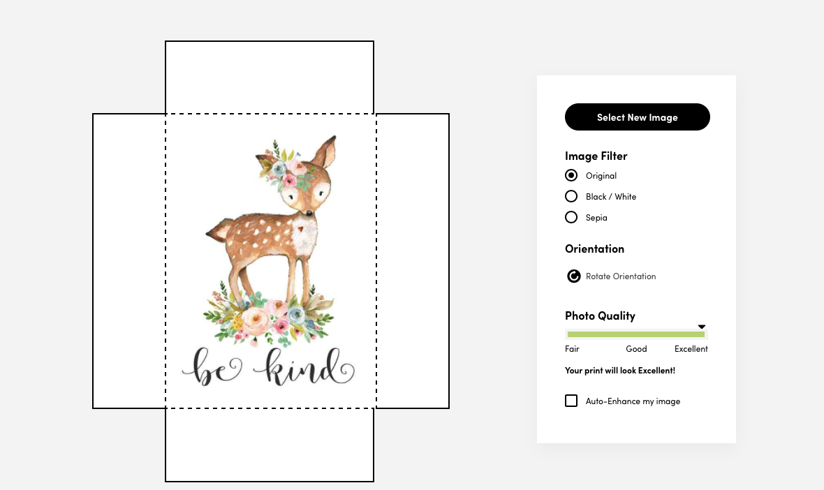 Woodland Deer Etsy Digital Download Printed with Posterjack