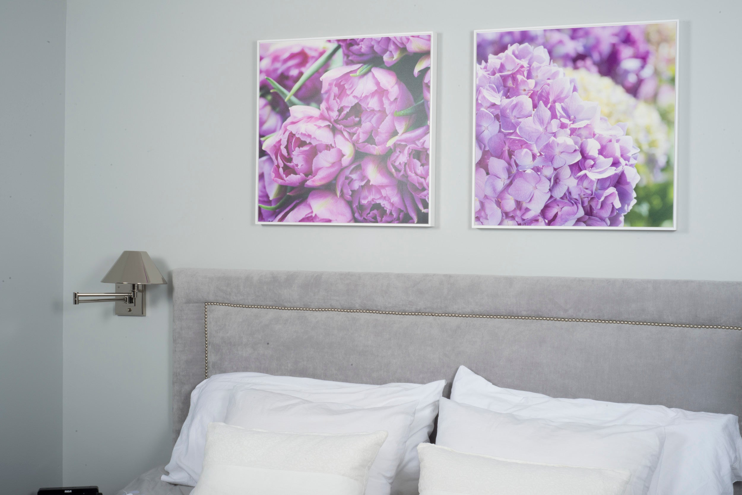 Shadow Box Wall Art - Custom Gallery Boxes with White Floater Frames