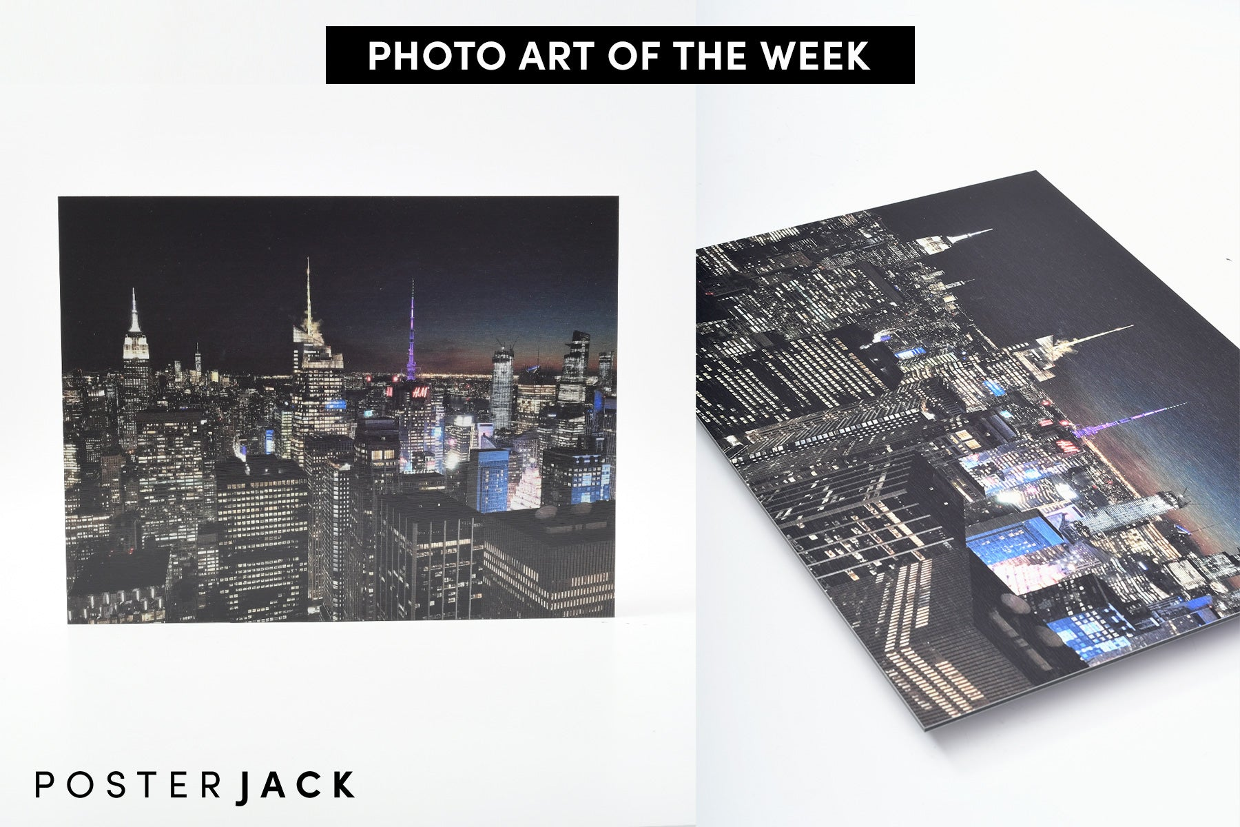 New York Skyline at Night: Photo Art of the Week