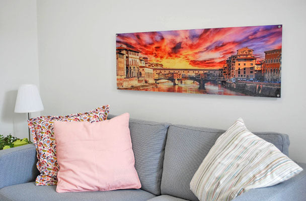 What Is an Acrylic Print? Vibrant Photo Art on Display in Room