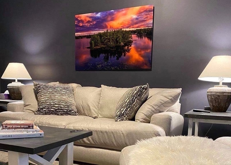 Sunset Photo Printed on Acrylic by Posterjack Canada - Customer Photo