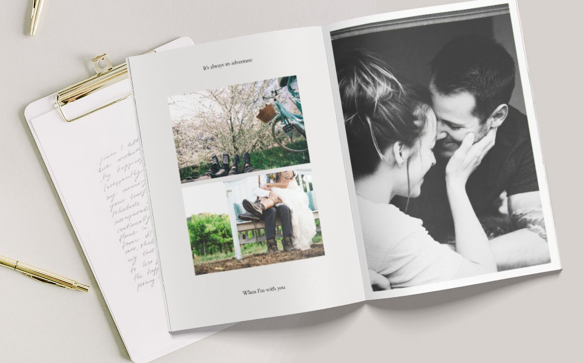Valentine's Day Photo Book Ideas