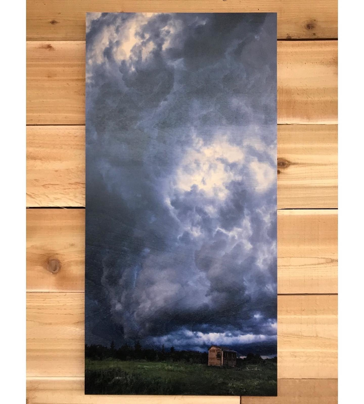 Vertical Panoramic Photo Printed on Wood at Posterjack
