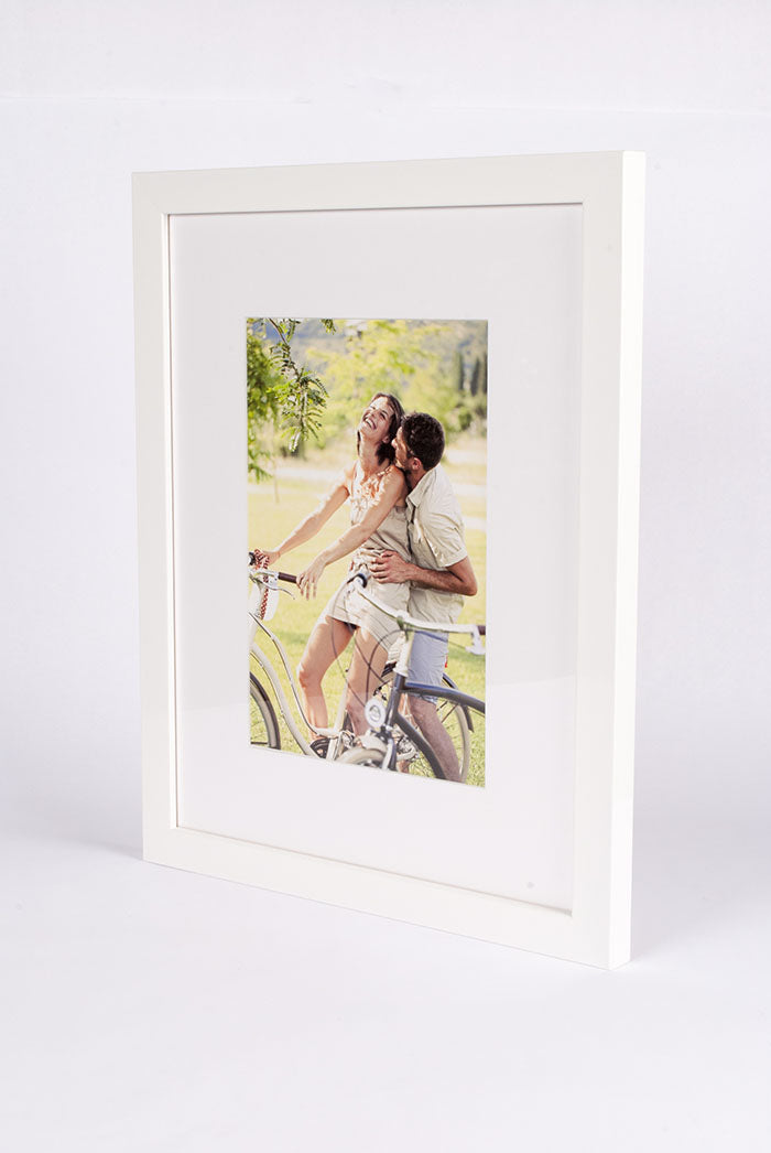 White Lacquer Picture Frame