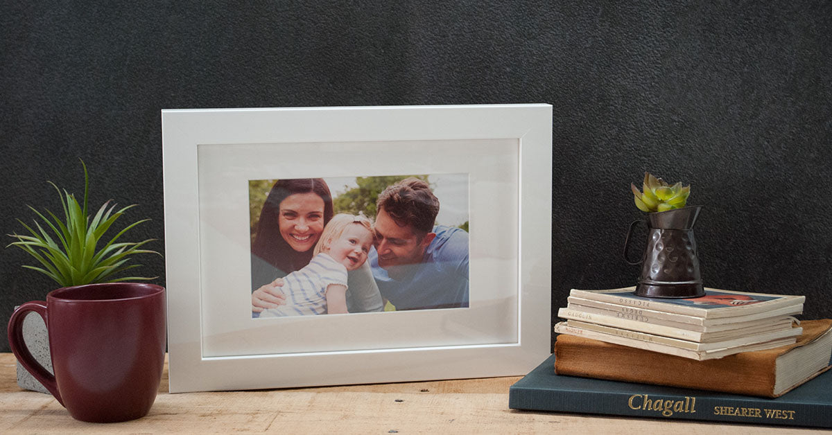 White Picture Frame - Posterjack Canada