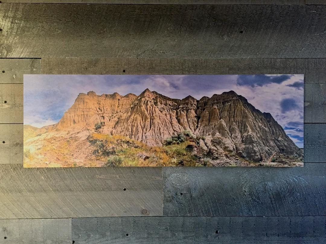 Panoramic Photo Printed on Wood - Posterjack Customer Photo
