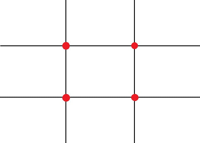 Rule of Thirds Grid Example