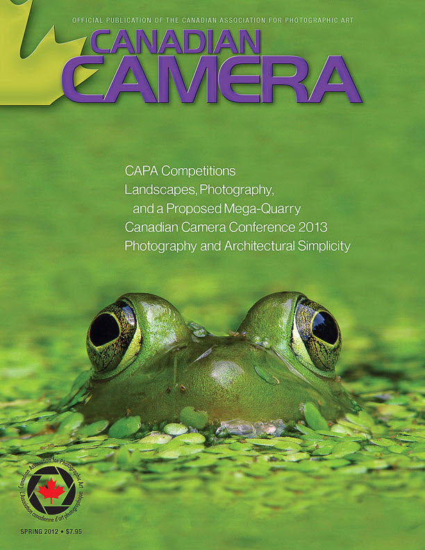 Cover of Canadian Camera Magazine