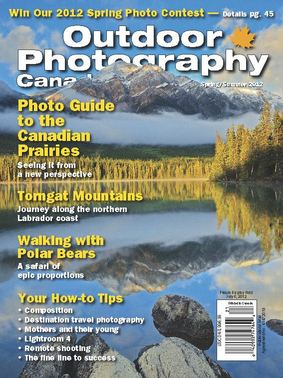 Cover of Outdoor Photography Canada Magazine