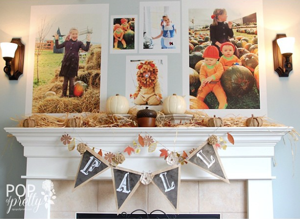 Posterjack Peel & Stick wall decals fall/autumn interior decorating