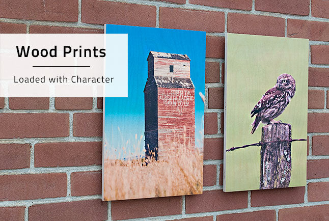 Posterjack Wood Prints can help highlight the textures within photos