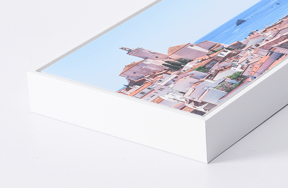 Gallery Box Frame // White