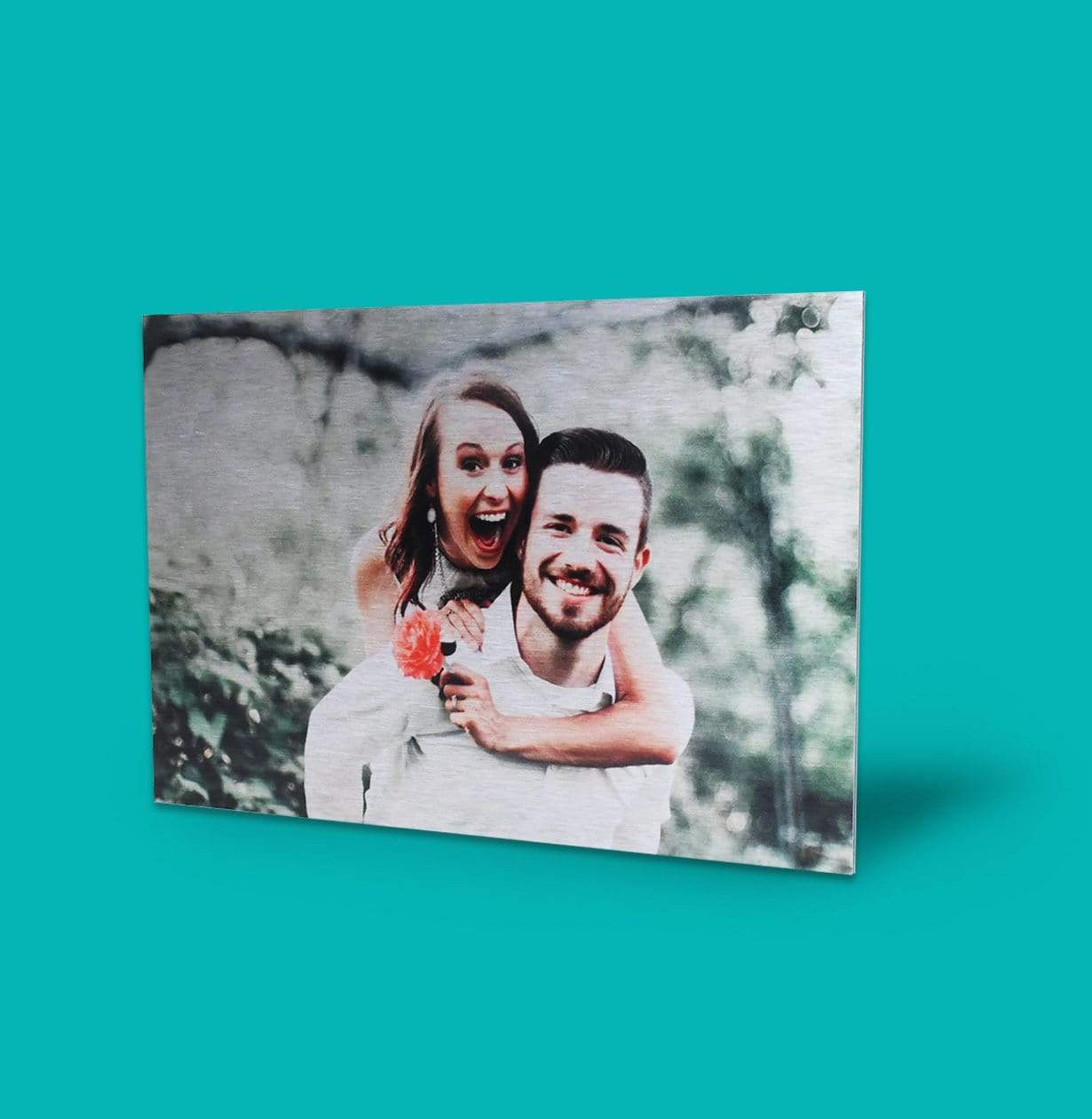 Silver Metallic Prints Custom Photos On Metal With Posterjack Canada