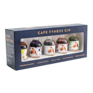 Sugarbird Cape Fynbos Gin Gift Pack - Mini's | Mothercity Liquor