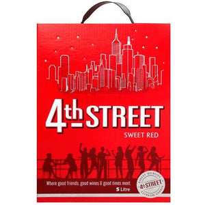 4th Street Sweet Red 5L - MotherCity Liquor Store
